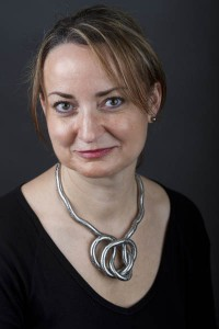 Senior lecturer in theater Katalin Vecsey.