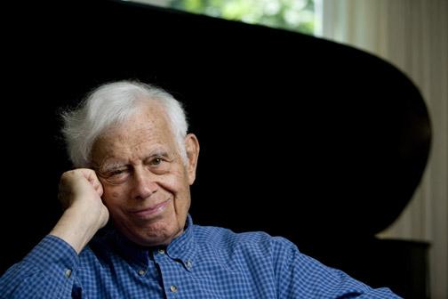 Frank Glazer. Photograph by Phyllis Graber Jensen/Bates College.