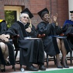 With Bassler, De Niro, Ifill, the star power shines at Commencement 2012