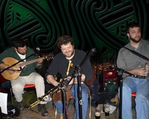 Boghat, from left, consists of Mike Jeanneau, Tom Rota and Chris Stevens.