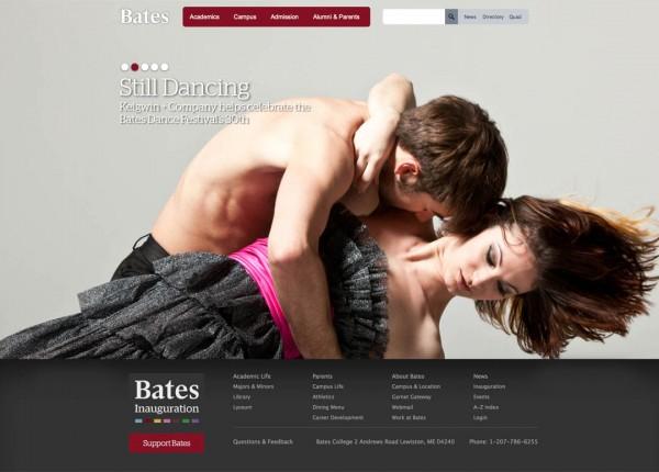 2012 Bates website