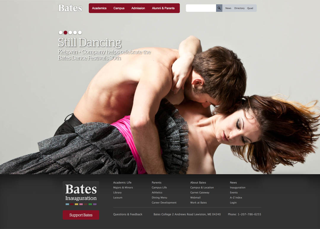 2012 Bates website