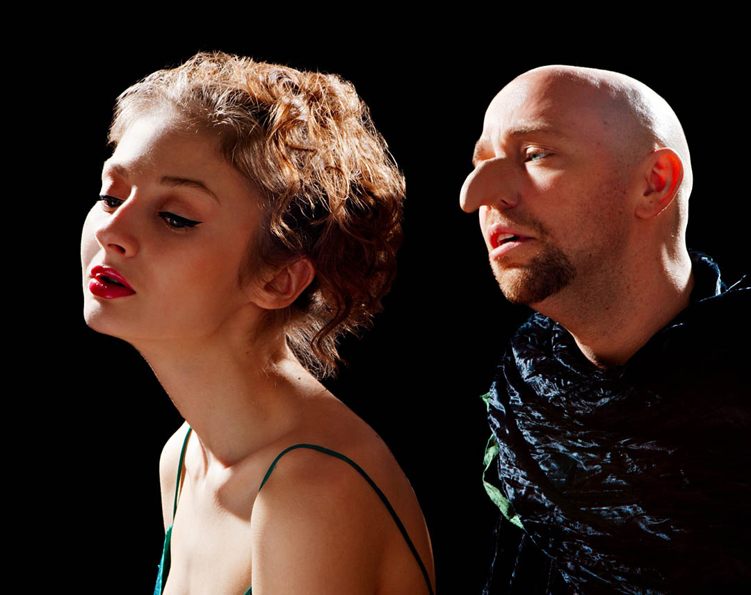 "The Aquila Theatre Company performs ""Cyrano de Bergerac"" at Bates on Sept. 27."