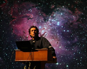 "Babak Tafreshi, an Iranian-born artist and science journalist, leads an astrophotography workshop in the Maine wilderness and gives a talk related to the Bates exhibition ""Starstruck"" during October."