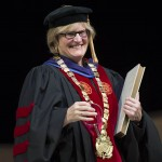 'The embodiment of Bates values,' Spencer is installed as president