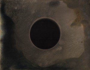 "Jacqueline Woods, ""Black Sun No. 30,"" 2012."