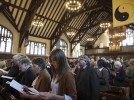 Slide show: Service for naming the Peter J. Gomes Chapel