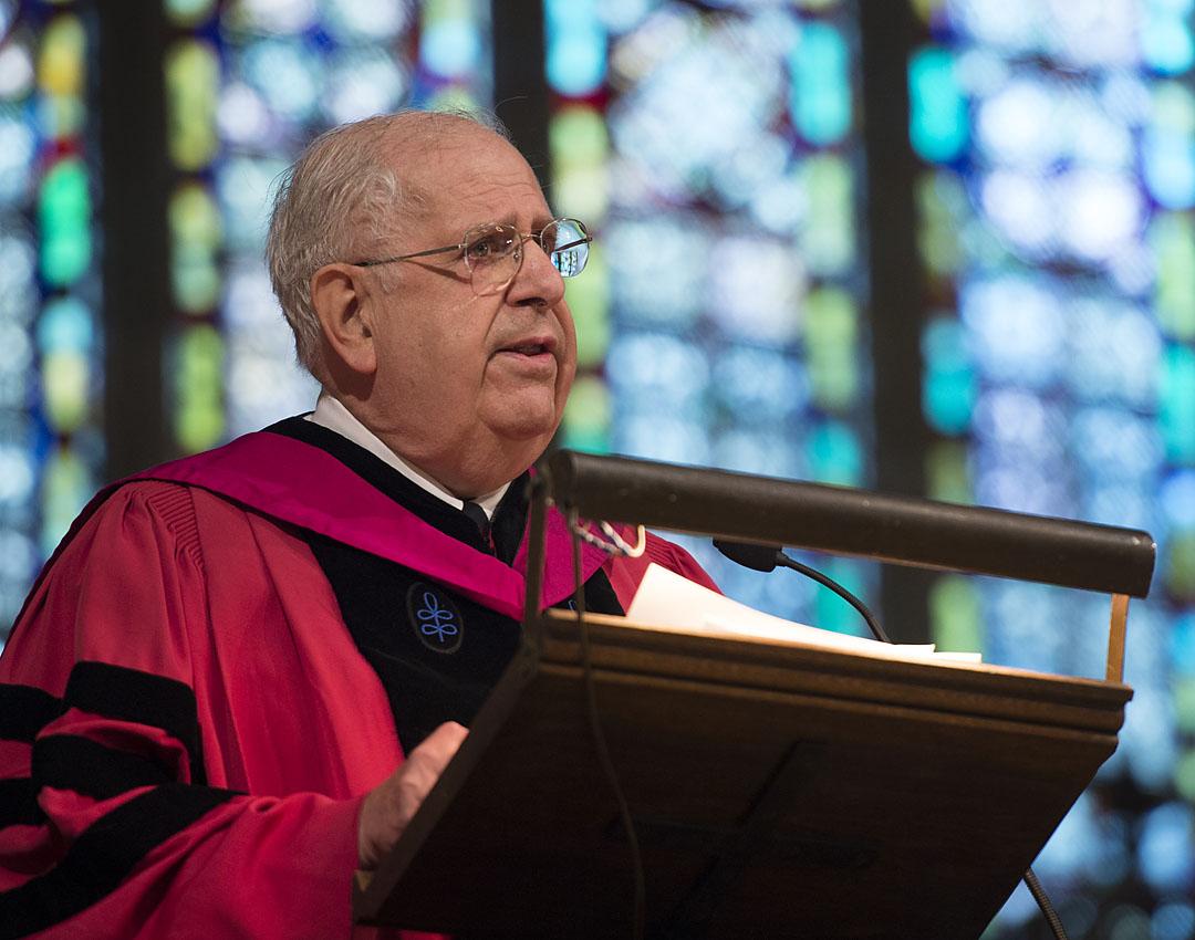 Professor Emeritus Carl Benton Straub