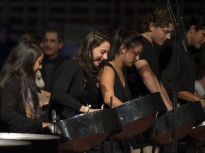 The Steel Pan Orchestra. (Michael Bradley/Bates College)