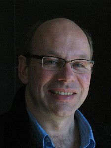 A portrait of Alexandre Dauge-Roth, associate professor of French and francophone studies.