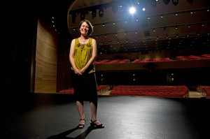 Hilary Poriss '91 is a music professor at Northeastern University. Courtesy of Brooks Canaday/Northeastern University.