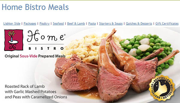 Dave Thompson's company Home Bistro now employs 30 and predicts that 2013 sales will top $11.2 million.
