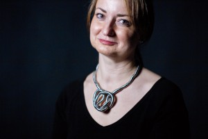 """Katalin Vecsey, senior lecturer in theater, directs """"In the Next Room.""""(Phyllis Graber Jensen/Bates College)"""