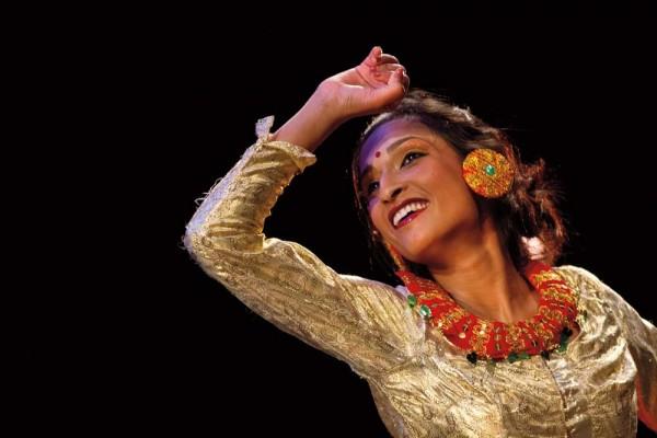 Shlesma Chhetri, photographed by Phyllis Graber Jensen/Bates College.