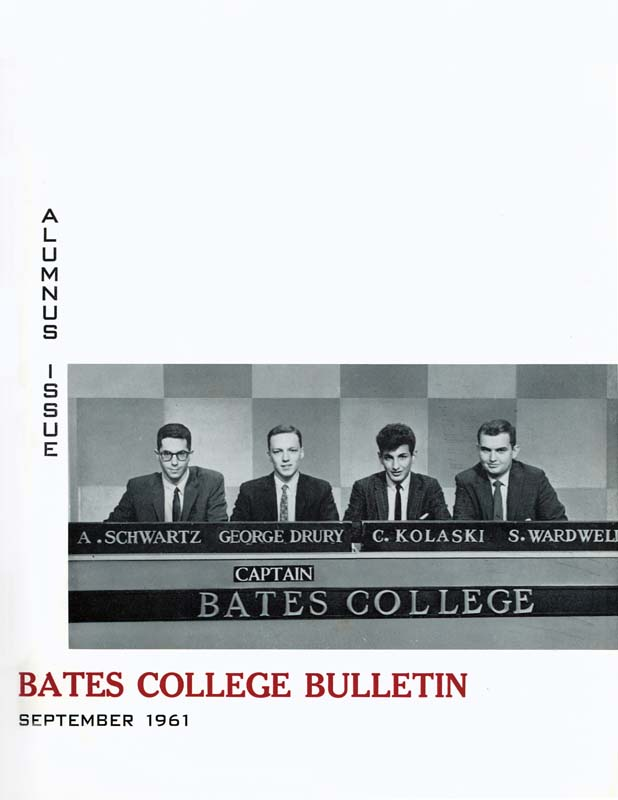 Bates goes national on College Bowl.