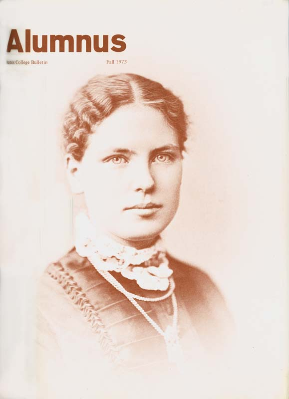 Women's liberation meets Emma Clark Rand, Class of 1881.
