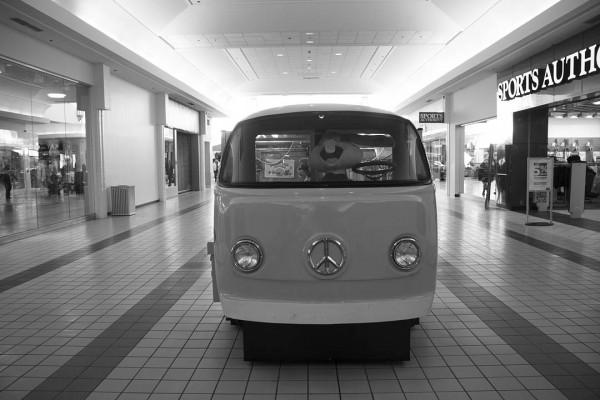 """""""Volkswagen Van"""" (2013), an inkjet print by Amanda Wescott '13."""