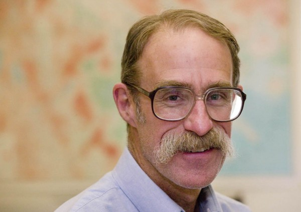 Loring Danforth, professor of anthropology, is this year's Kroepsch Award recipient. Photograph by Phyllis Graber Jensen/Bates College.