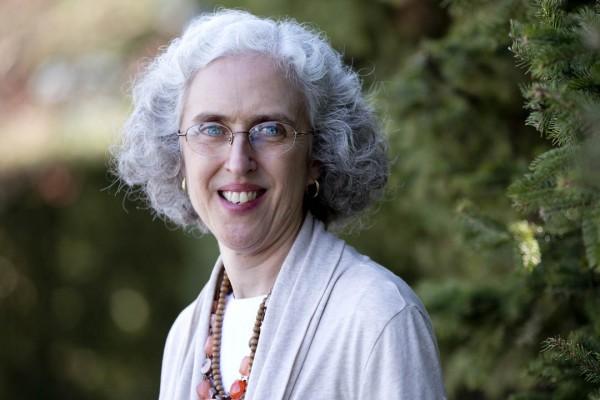 Professor of Sociology Emily Kane. Photograph by Phyllis Graber Jensen/Bates College.