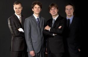 The Bennewitz Quartet. Photograph by Pavel Ovsik.
