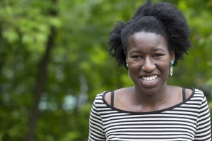2013 Fulbright grant recipient Hakimah Abdul-Fattah. Photograph by Michael Bradley/Bates College.