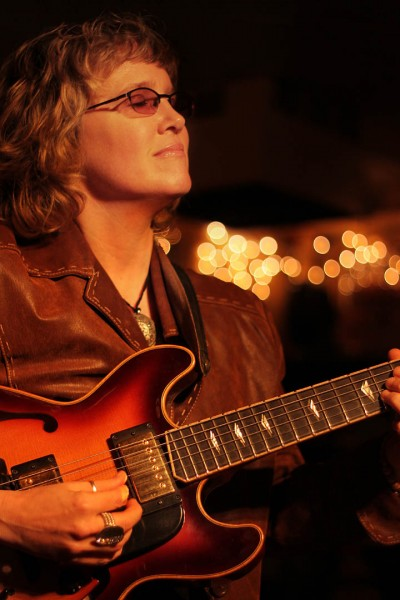 Jazz guitarist Sheryl Bailey.