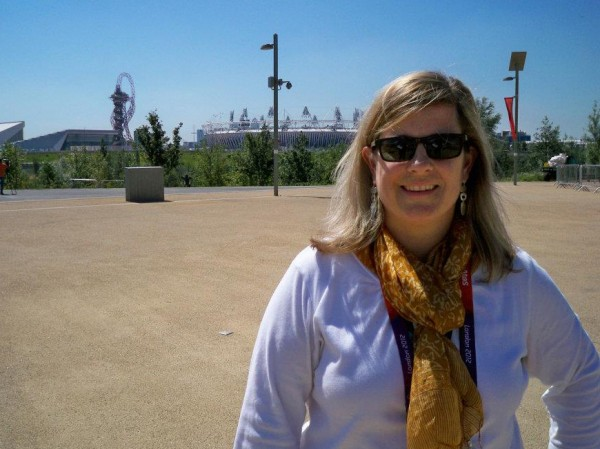 Amy Bass '92 is a history professor at the College of New Rochelle who contributes research expertise to NBC Olympics coverage. Photograph courtesy of the College of New Rochelle.