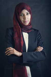 Women's rights advocate Manal al-Sharif.