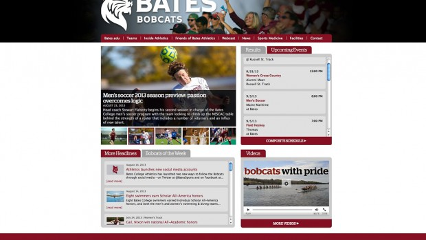 The new Bobcat athletics website debuted Aug. 1.