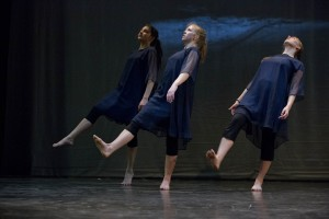 The Bates Dance Company in March 2013. (Phyllis Graber Jensen/Bates College)