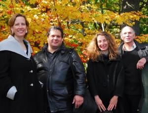 The DaPonte String Quartet.