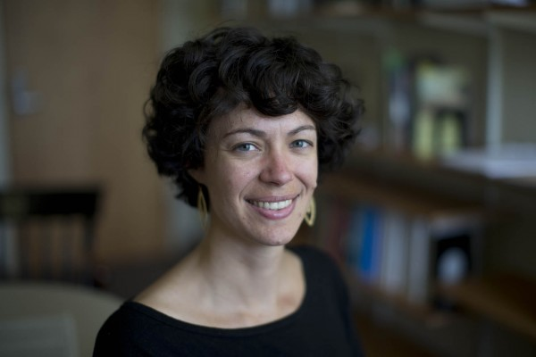 Assistant Professor of History Lydia Barnett. (Phyllis Graber Jensen/Bates College)