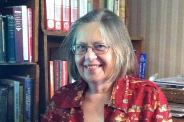 Food historian Sandra Oliver.