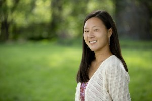 Ashley Brunk '13 received a Fulbright English Teaching Assistantship to Malaysia. (Phyllis Graber Jensen/Bates College)