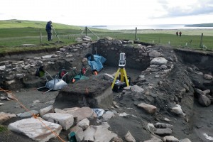 In the Shetland Islands, a Bates-directed archaeological dig, funded by the National Science Foundation, involves geologists, anthropologists, historians and biologists who are discovering the fate of a township named Broo that was buried in sand during the17th century Little Ice Age.
