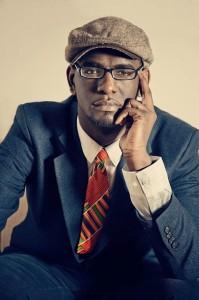 Spoken word artist Carvens Lissaint.