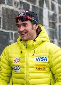 Olympic hopeful and former All-America Nordic skier Sylvan Ellefson '09. (Photo: Steve Fuller '81)