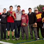 On a balmy winter day, the boys of summer take to Garcelon Field for some baseball
