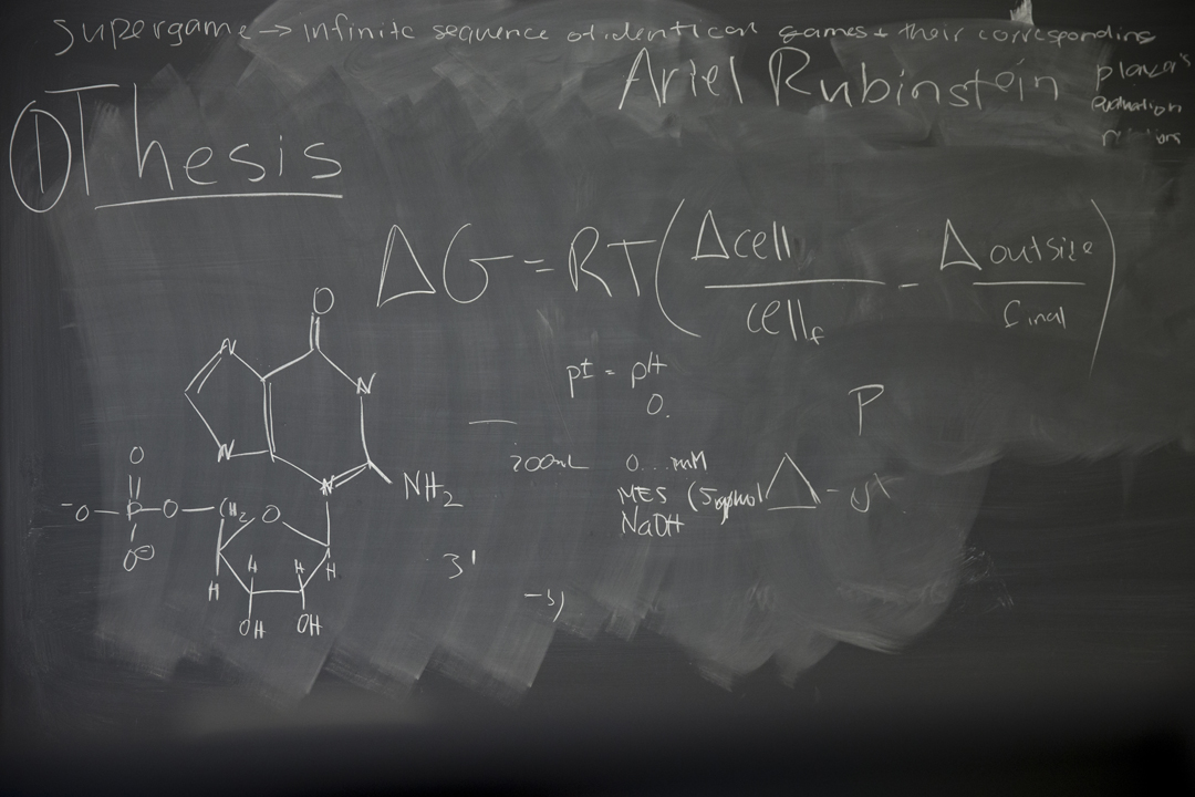 As seen in Room 219 of Dana Chemistry.  (Phyllis Graber Jensen/Bates College)