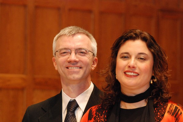 Pianist Eric Ostling and soprano Karyn Levitt perform Eric Bentley's translations of songs by Bertolt Brecht collaborator Hanns Eisler.
