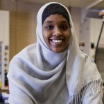 Asha Mohamud '15, one of two Phillips Student Fellows for 2013. (Phyllis Graber Jensen/Bates College)
