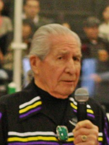 Chief Oren Lyons in a cropped image by Larry Palumbo.
