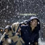 Slideshow: Lights, camera, lax action on snowy Garcelon Field