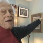 Channel 6 TV news magazine profiles pianist Frank Glazer, now age 99