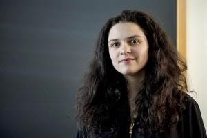 Watson Fellow Simone Schriger '14. (Sarah Crosby/Bates College)