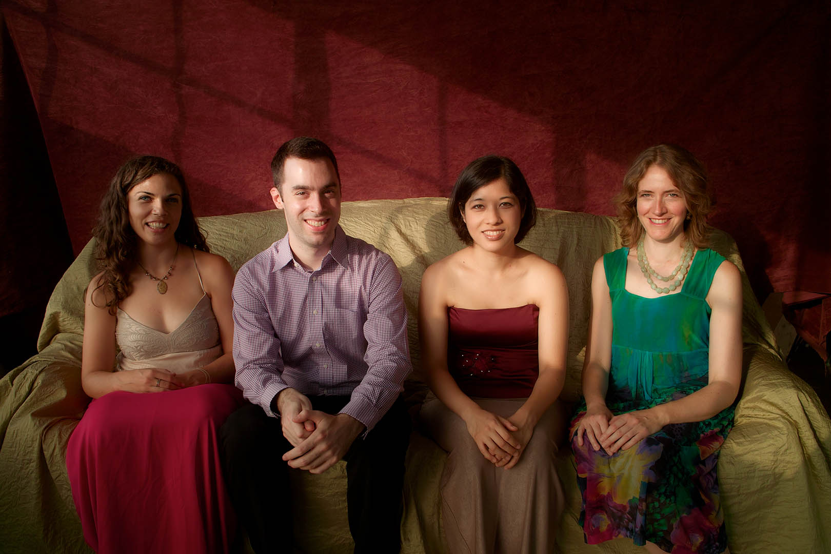 Dedicated to living composers, the Momenta Quartet performs on May 8.