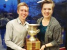 Debaters Blackburn and Stewart bring home national championship