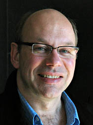 Alexandre Dauge-Roth, professor of French and Francophone studies.