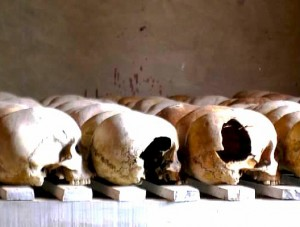 Murambi Genocide Memorial, Rwanda. (Photograph by Aliza Luft)