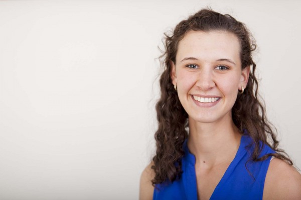 Alexandra Hill '14 is a 2014 recipient of a Fulbright U.S. Student Grant. (Sarah Crosby/Bates College)